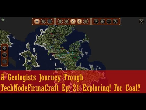 A Geologists Journey Trough TechNodeFirmaCraft Ep: 21 Exploring! For Coal?