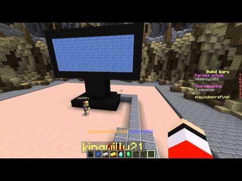 UNA TELE, UN ARQUERO Y UN PICO - Build Battle Minecraft (Build Wars)