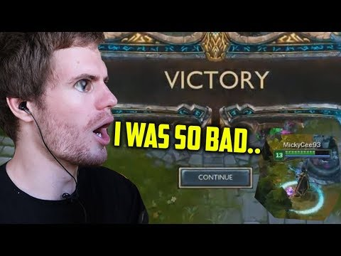 My First Ever LEAGUE OF LEGENDS Game thumbnail