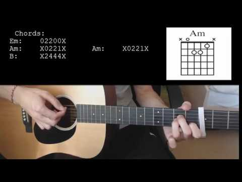 Billie Eilish - bad guy EASY Guitar Tutorial With Chords / Lyrics