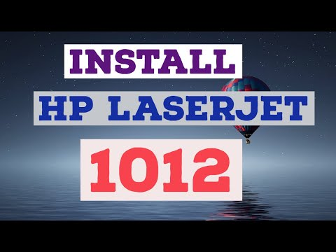 HOW TO DOWNLOAD AND INSTALL HP LASERJET 1012 PRINTER DRIVER ON WINDOWS 10, WINDOWS 7 AND WINDOWS 8