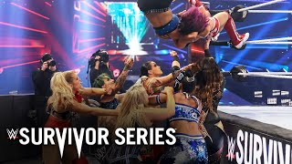 Peyton Royce superplexes Bayley into the rest of the field: Survivor Series 2020
