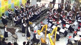 [2016-12-17][1556]ルロイ・アンダーソンの「そりすべり」<千葉県立千葉女子高校管弦楽部:スクールバンドパフォーマンス@ビビット南船橋>