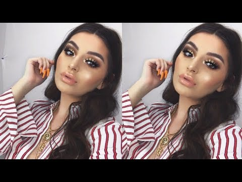 FULL FACE OF AIRBRUSHED MAKEUP?!   Shelby Triglia