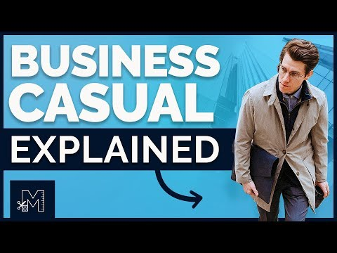 Business Casual for Men: Everything You Need to Know (Shoes, Jeans, History, DOs and DON'Ts)