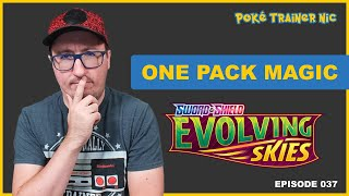 Pokémon Sword & Shield Evolving Skies One Pack Magic or Not, Episode 37 #Shorts