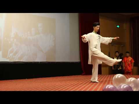 Kung fu Fighting performance by China young stars 2018