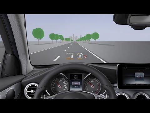 GLC: Head-up display - Mercedes-Benz original
