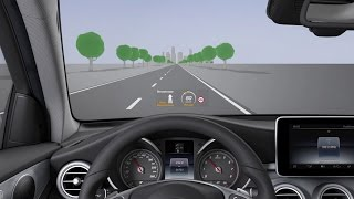 GLC: Head-up display - Mercede…