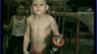 5 Year Old BodyBuilder Wins Guinness Record.