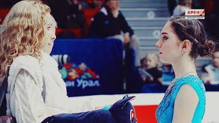 Eteri Tutberidze and Zhenya Medvedeva