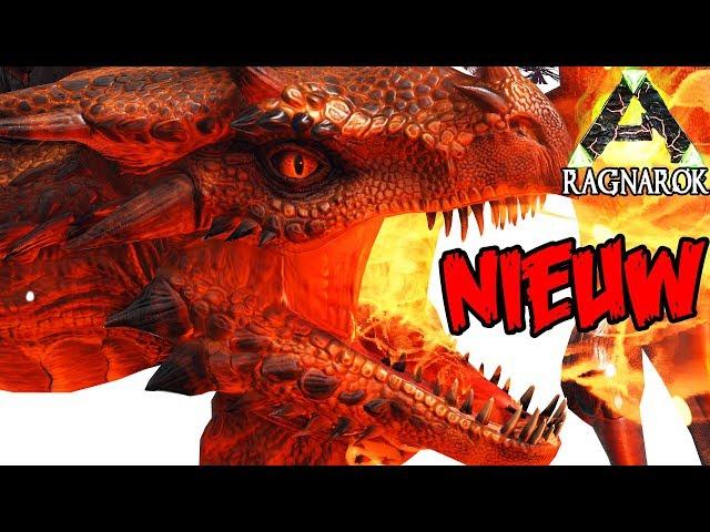 NIEUWE VUUR DRAAK & NIEUWE SPINO?! | ARK Ragnarok #14