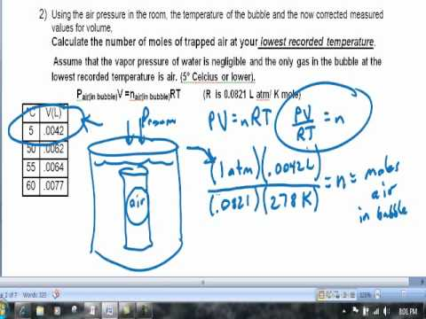 vapor lab Purpose the purpose of this experiment is to determine the enthalpy of vaporization of water by taking note of the vapor pressure of water over.