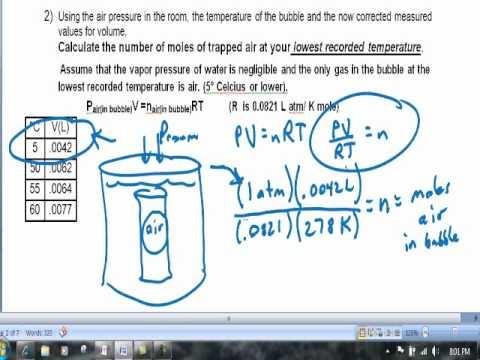 7CV Vapor Pressure Lab Calculations Video Clip - YouTube