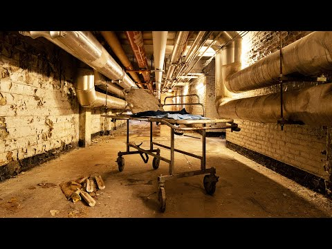 Exploring An Abandoned Hospital Filled With Thousands Of Patient Files