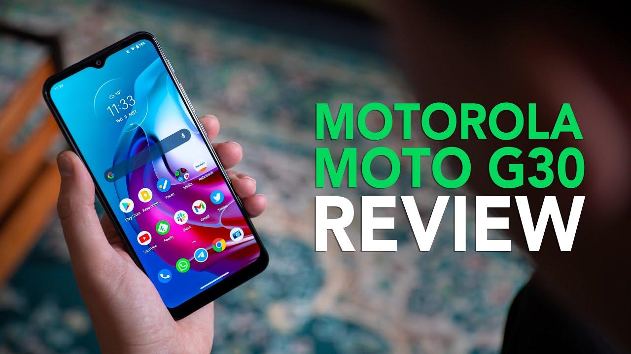 Motorola Moto G30 review: één van de beste budgetsmartphones van dit moment?