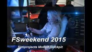 FSweekend 2015 Simprojects Motion Cockpit