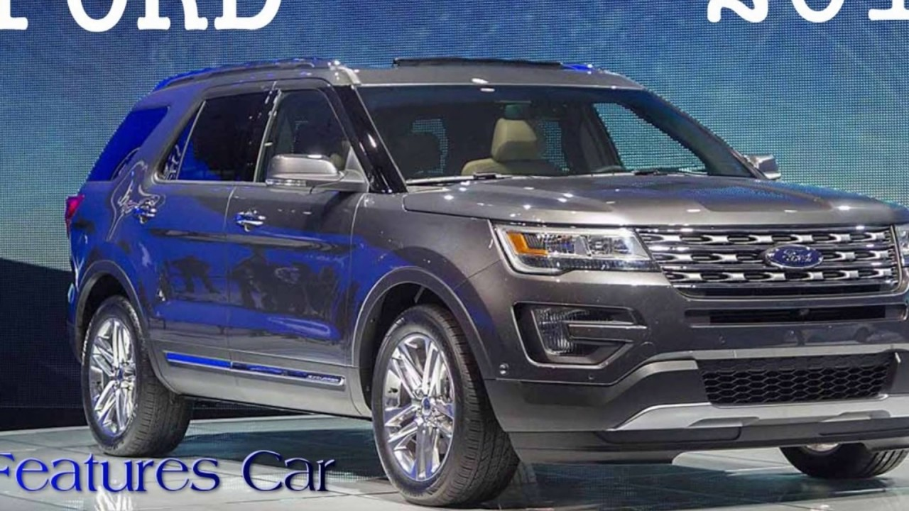 Ford Everest Luxury Suv Concept New Overview