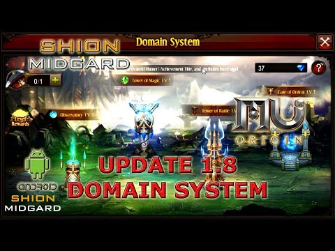 [Mu Origin] Update 1.8 y Domain System