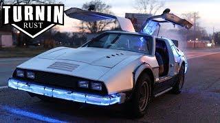 Back To The Future Delor....BRICKLIN?! | 1975 Bricklin SV-1 | Turnin Rust