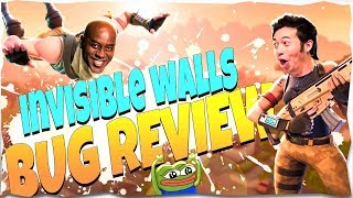 BUG REVIEW 👏 👏 | Invisible walls & Shotgun Reload Bug And More | Fortnite STW PVE 👏 👏 #2