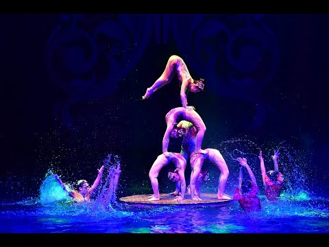 LIVE: Stunning acrobatic show on water! From hometown of Chinese acrobatics