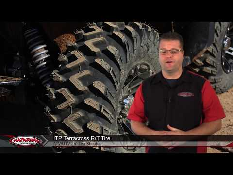 ITP Terracross R/T ATV Quad and UTV Tires in the Chap Moto 25 Inch Tire Shootout