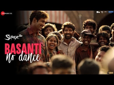 Super 30 Basanti No Dance Song I Hrithik Roshan and Mrunal Thakur