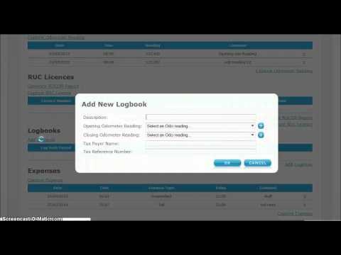 GPS LOG BOOK   How to create a tax logbook