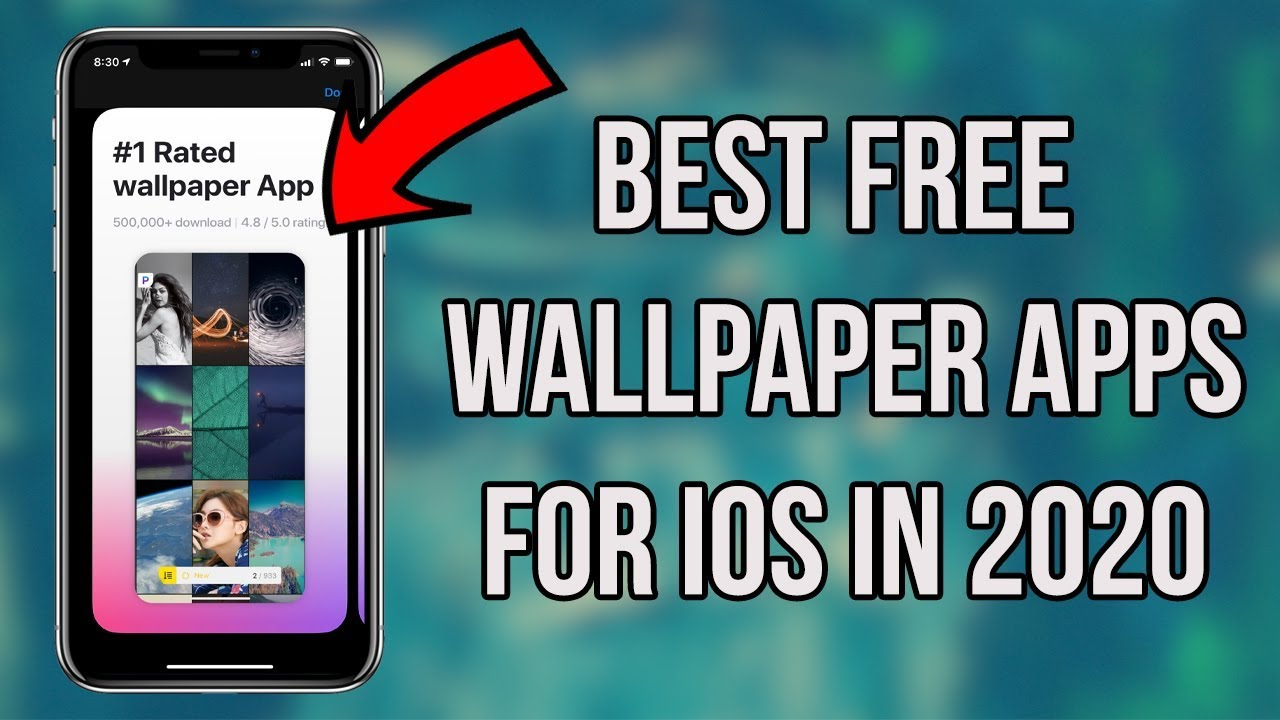The Best Wallpaper Apps For Iphone 2020 Get High Quality Wallpapers Free On Iphone Youtube