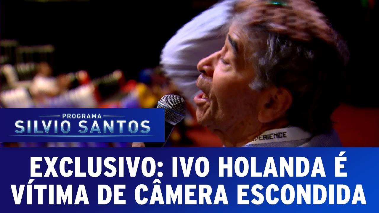 Exclusivo: Ivo Holanda é vítima de Câmera Escondida pela primeira vez e na Comic Con Experience