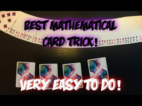 EASIEST Mathematical Card Trick: Awesome Card Trick Performance And Tutorial! thumbnail
