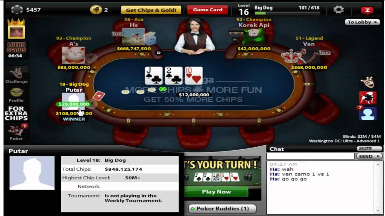Zynga Poker Achievements Not Loading