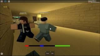 FLAMEDESINISTER VS GNOMESKI ROBLOX FIGHT