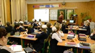 Урок русского языка  в 3 классе мастер-класс (анонс)