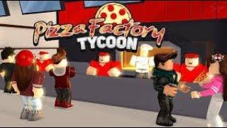 Roblox Inglés / Pizza Factory Tycoon / la vida de una pizzería #2