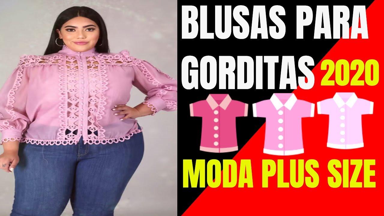 Ideas en Moda para Gorditas usando una bella BLUSA | Moda Plus Size con ropa para gorditas