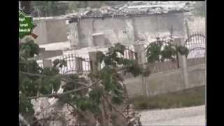 Боевые действия на подступах к Дамаску(В Сирии отдельные боевые действия в понедельник велись на ближних подступах к Дамаску. На кадрах любительс..., 2013-04-22T23:23:51.000Z)