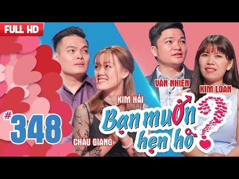 WANNA DATE| EP 348 UNCUT| Chau Giang - Kim Hai| Van Nhien - Kim Loan| 150118 💖