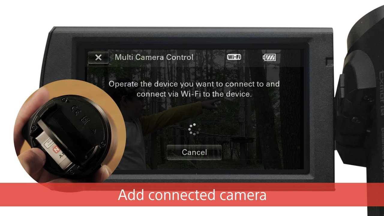 Handycam From Sony Multi Camera Control Youtube