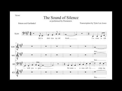 Pentatonix - The Sound of Silence (TRANSCRIPTION)