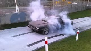 Ford Xf Twin Turbo Ute Burnout