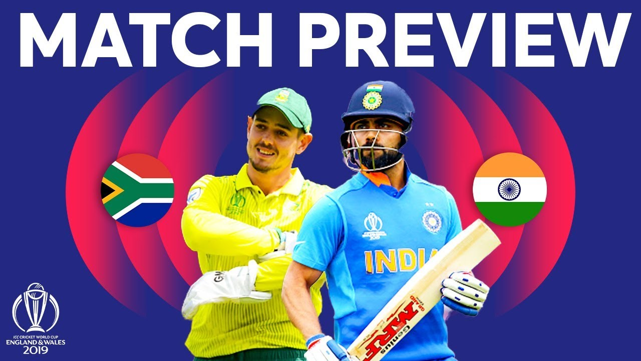Match Preview - India v South Africa | ICC Cricket World Cup 2019