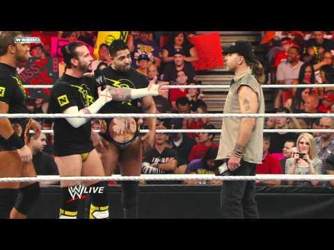 Raw: Shawn Michaels' return to Raw is interrupted