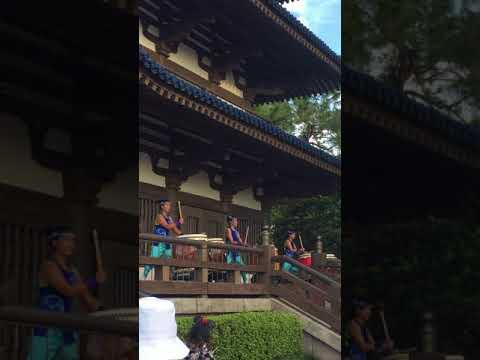 Disney World Japanese Drum Performers - Epcot