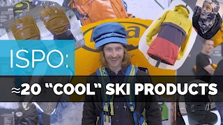 "Ski Gear - 20 ""COOL"" SKI PRODUCTS 2018 