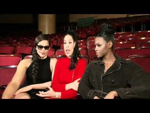 Whitney Houston - On Set With the Cast of Sparkle BET