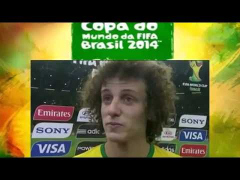 Neymar Junior,David Luiz,Oscar and Brasil fans Crying Wolrd Cup 2014 HD