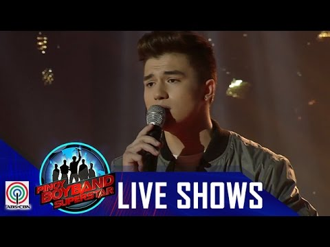 "Pinoy Boyband Superstar Live Shows: Markus - ""Stay With Me"""