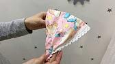 DIY Косынка на резинке для ребенка своими руками - YouTube